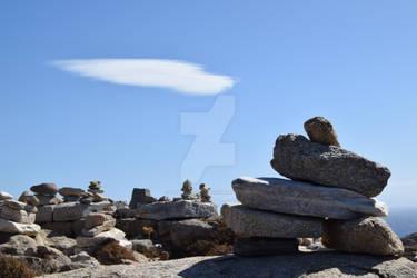 Piles of Stone, Sanctuary of Zeus and Athena