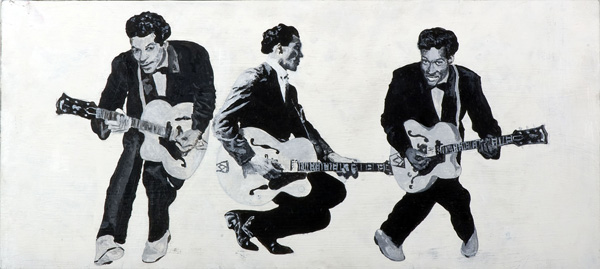 triple chuck berry by SeniorShow4