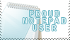notepad user stamp by mukuro-sama