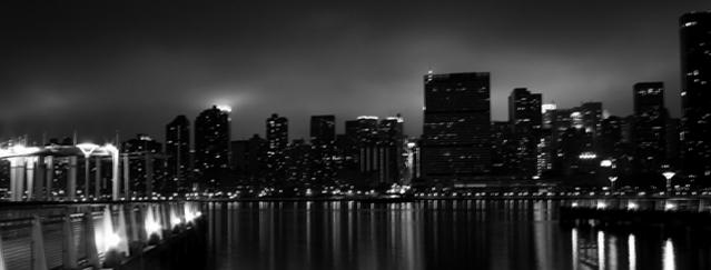 NYC Reflections B+W by dolarbill3
