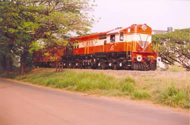 Diesel-Electric Locomotive
