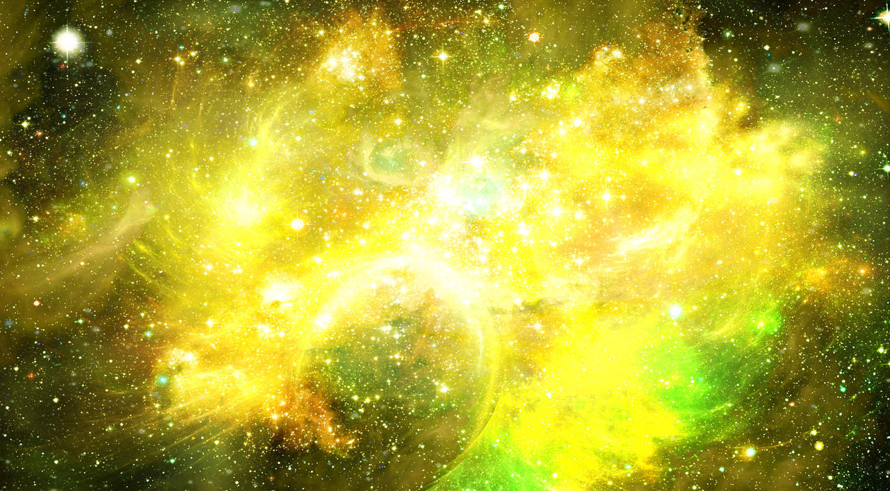 green high resolution nebula wallpaper - photo #47