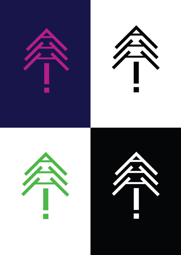 AHH! logo design by Pundja-Mali-Muffin on DeviantArt