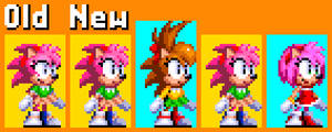Amy Rose Edited Redesigned