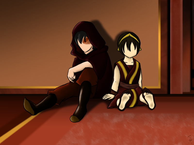 Zuko And Toph Zuko and Toph by Coppe...