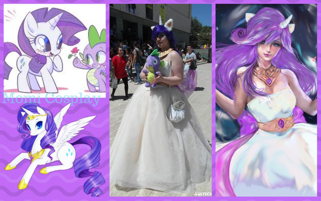 My cosplay Rarity by moma92mapi