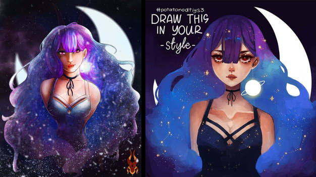Draw In Your Style (puisheng_potato)