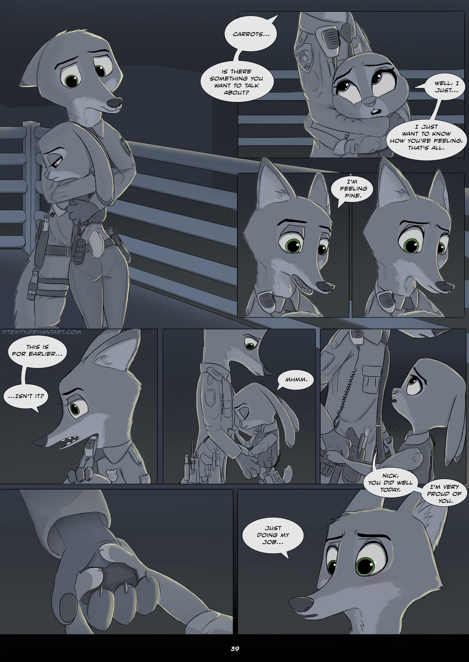 Savage company page 83 by YITEXITY : zootopia