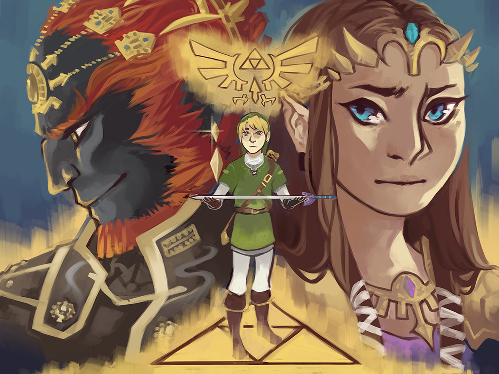 triforce by caephuier