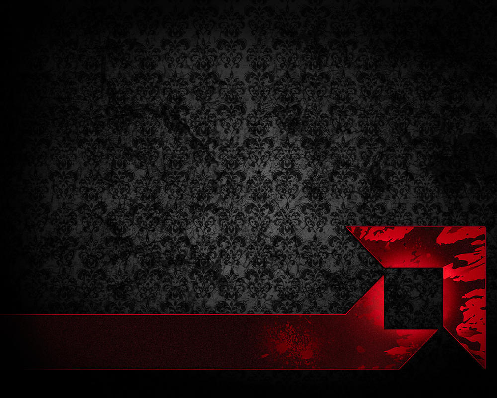 AMD Rocket Wallpaper Grunge by TheRealMarkAnthony on