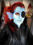 Undyne cosplay - Makeup test