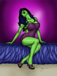 She-Hulk Night Out by Romey1973
