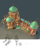 Inn design by plidezus