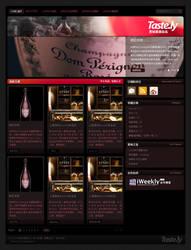 taste.ly web design