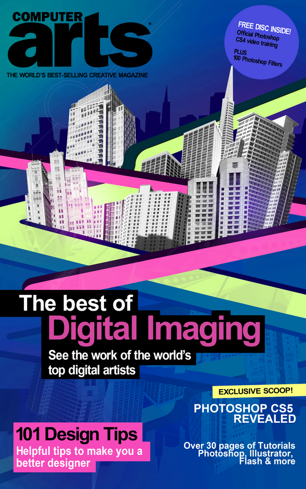 Computer arts magazine cover by itswithakay on deviantart for Design art magazine