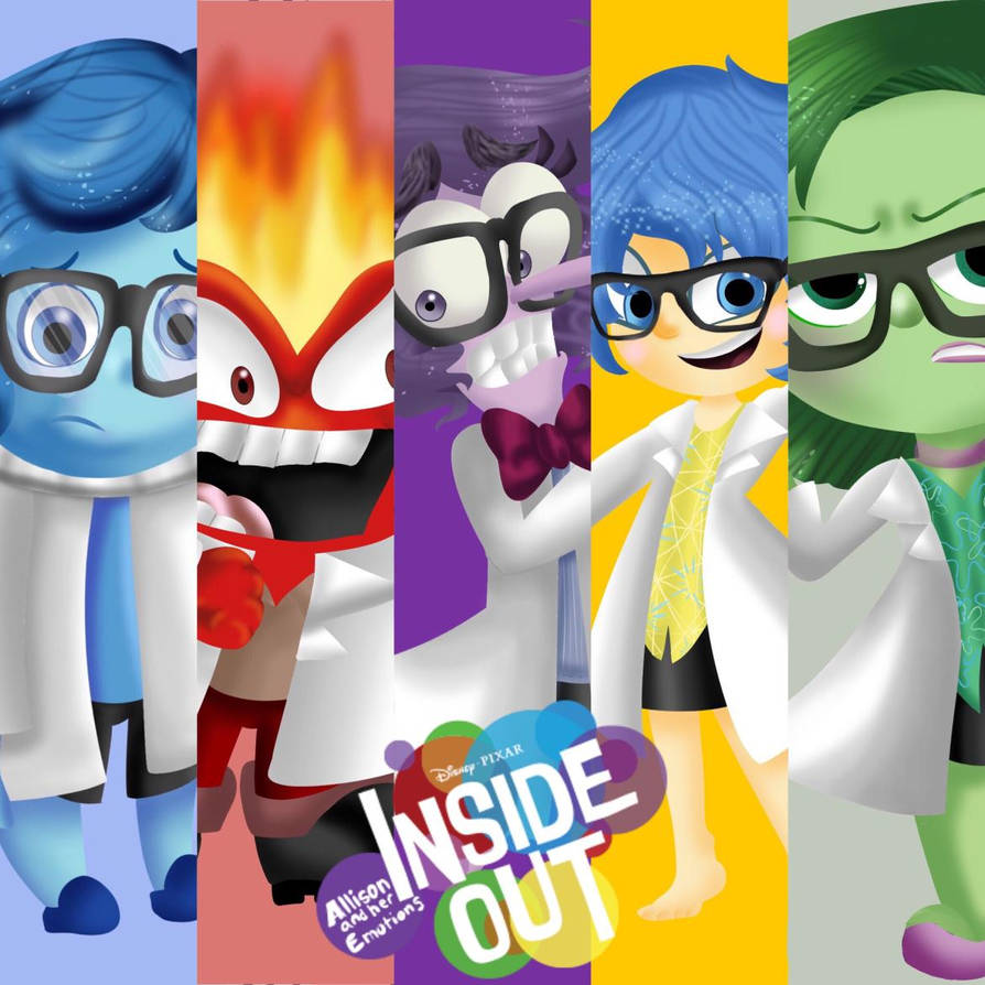5 emotions inside out