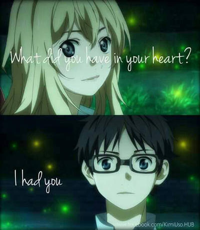 YOUR LIE IN APRIL by 49ShadesofSage