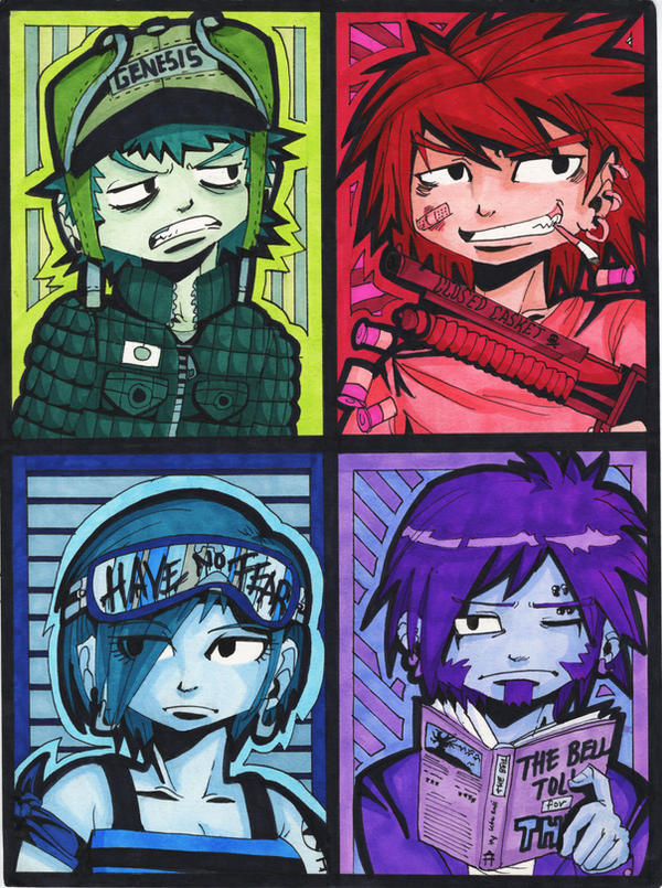 How It Ends: Color Squares by ToxicToothpick