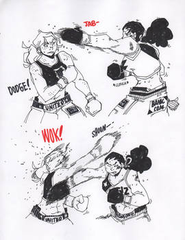 Boxing Practice 1 by ToxicToothpick