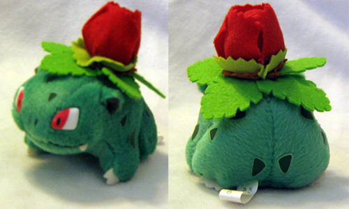 Pokemon Friends Ivysaur by PokePlushProject