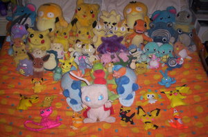 Pokemon Collection - NO FAV by PokePlushProject