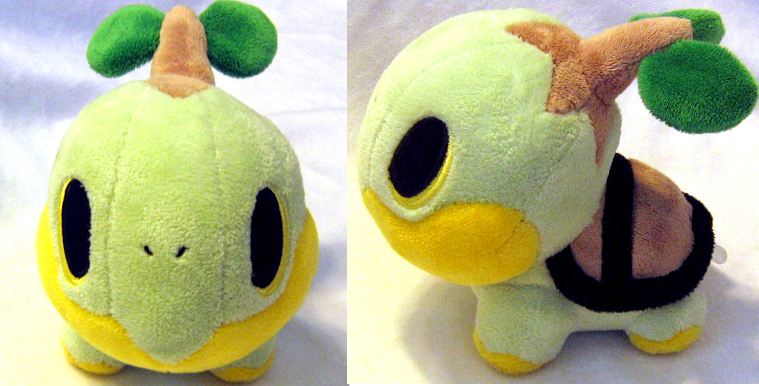 Turtwig Pokedoll by PokePlushProject