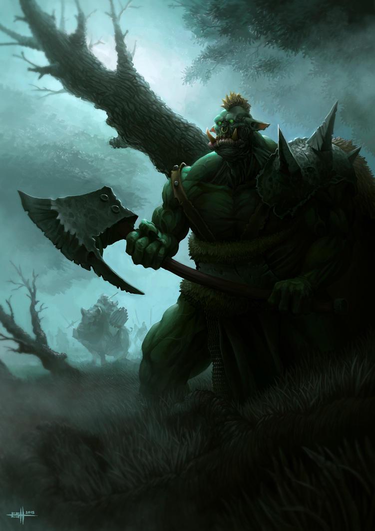 Big Boss Ork by edgarsh422