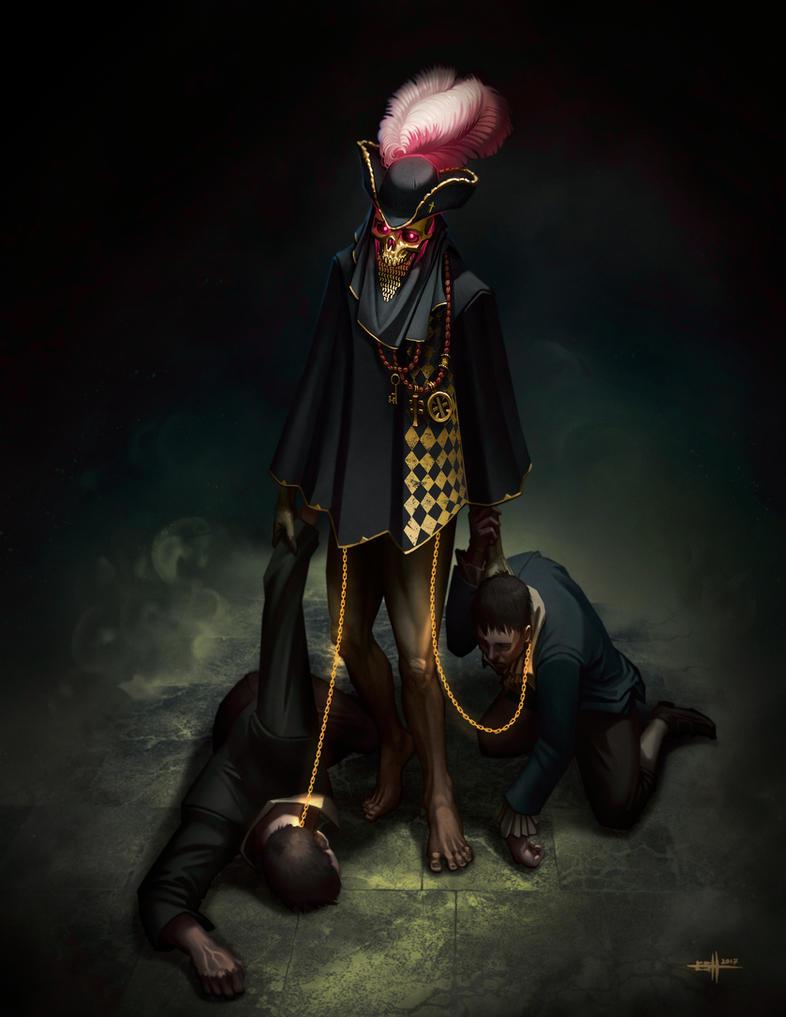 Gold Skull by edgarsh422