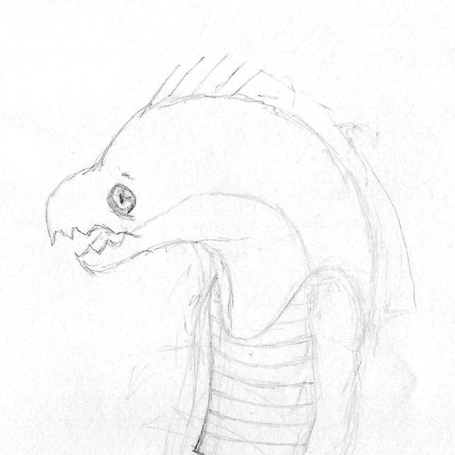 Dr Eelmann First Sketch by Dreams-N-Nightmares