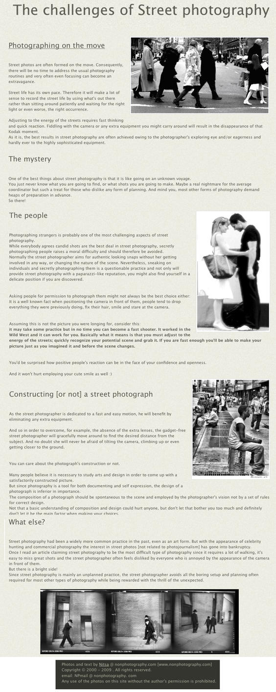 The challenges of Street photo by The-Yard-Collective