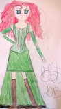 Don't Mess With Me (Merida Steampunk) by InvisibleDorkette