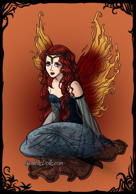 Merida Dark-Fairy-Azaleas-Dolls by InvisibleDorkette
