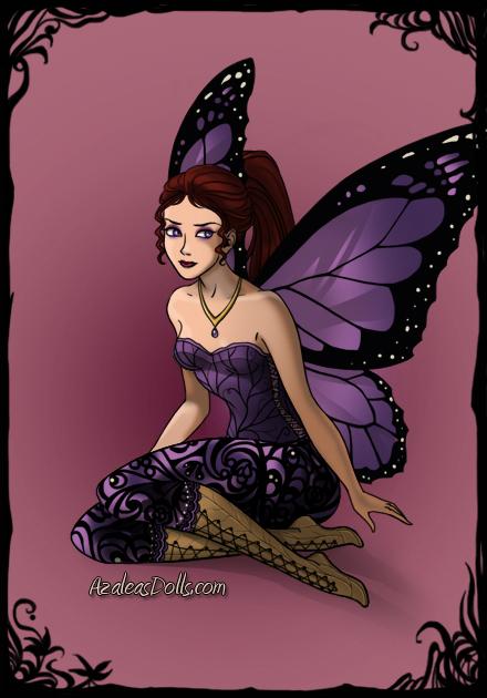 Meg Dark-Fairy-Azaleas-Dolls by InvisibleDorkette