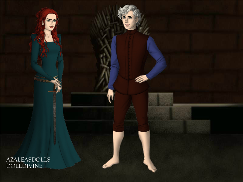 Jarida Game-of-Thrones-Azaleas-Dolls by InvisibleDorkette