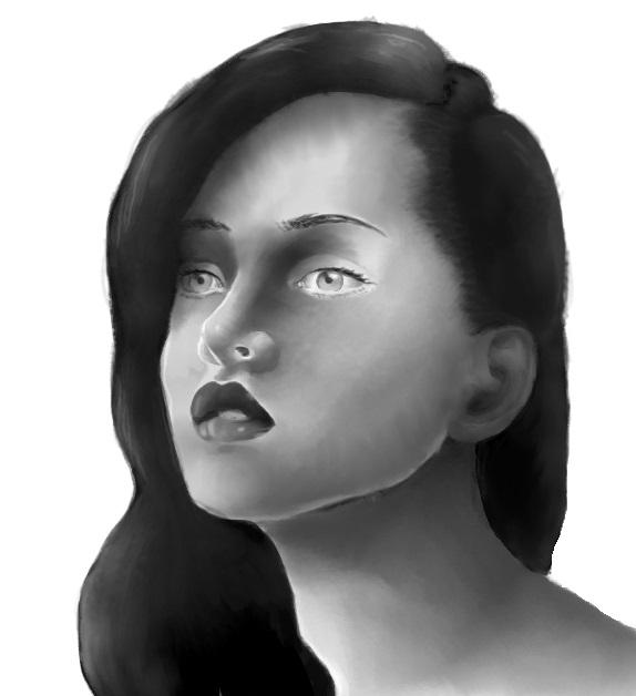 Portrait practice 33 by MuseOfMelancholy