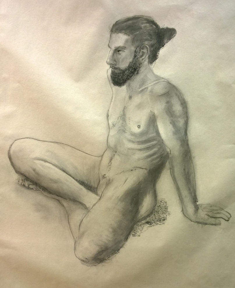Figure drawing 10 by MuseOfMelancholy