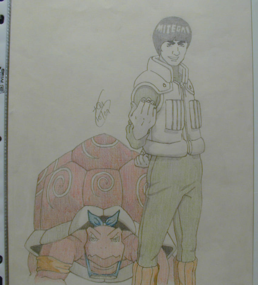 Gai sensei by minuswell on deviantart for Gai sensei 8 portes