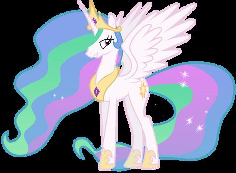 Princess Celestia by Brony-Works