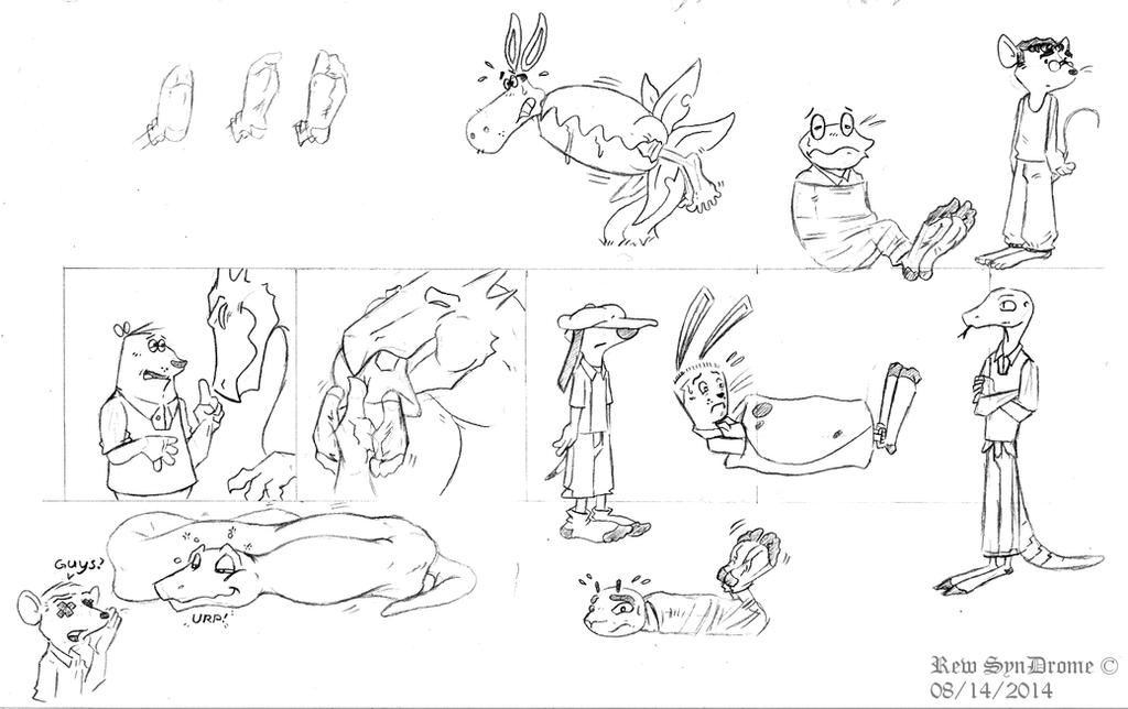 BRD: Cartoony Toons by thecruelseasons