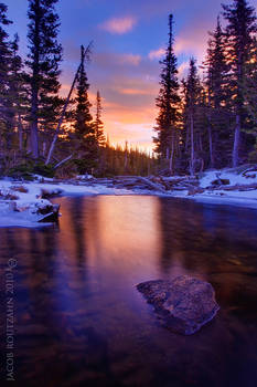 Flowing Colors of Dream Lake