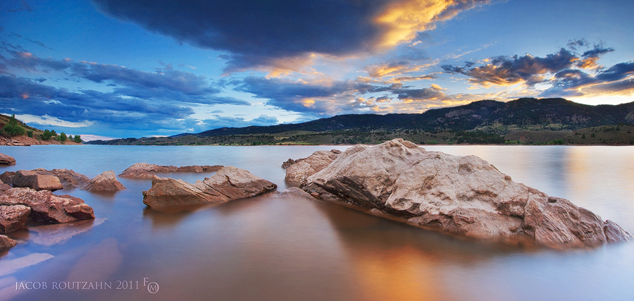 High Tide At Horsetooth by Jacob-Routzahn