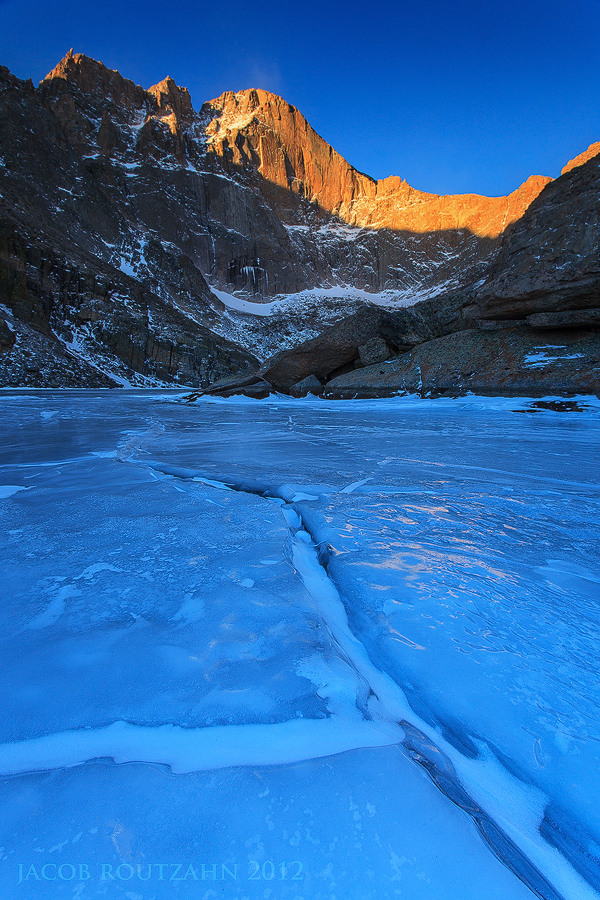 Chasm Lake by Jacob-Routzahn