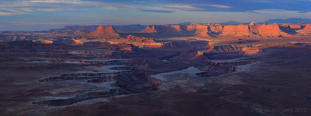 Green River Overlook by Jacob-Routzahn