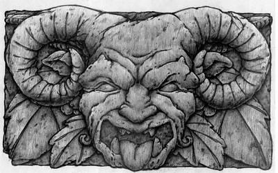 Gargoyle by Sangraal1307
