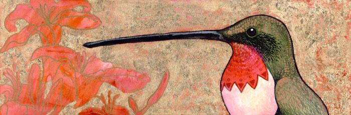 Klimt's Hummingbird by ursulav