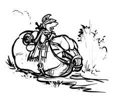 Battlesquash Sketch by ursulav