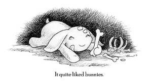 Little Creature and the Bunny by ursulav