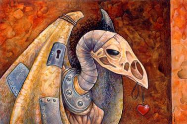 Second Bird Golem by ursulav