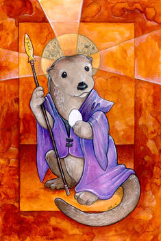 St. Otter and the Egg
