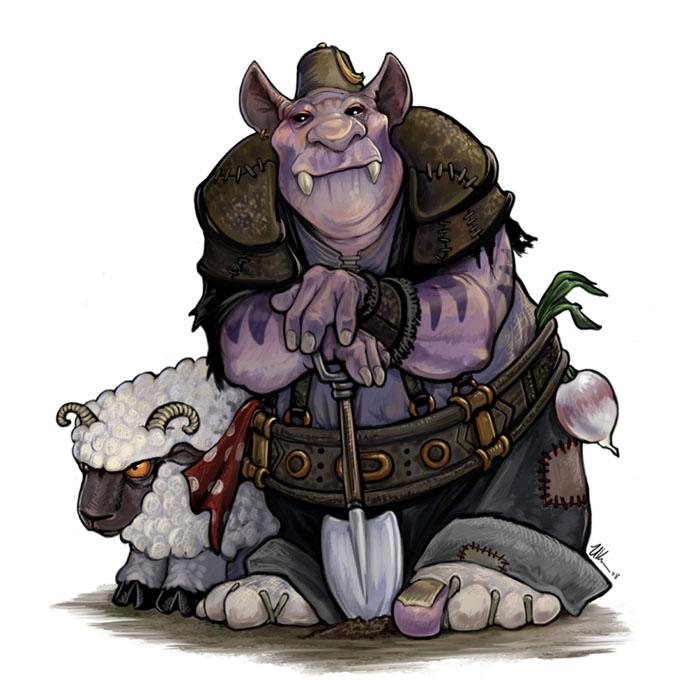 Farm Ogre by ursulav